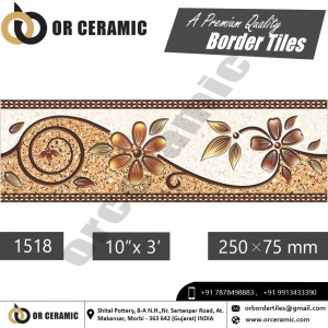 1518 Digital Border Tiles | OR Ceramic Morbi