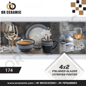 174 Kitchen Wall Poster Tiles | OR Ceramic