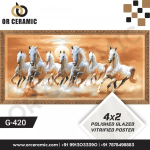 G-420 Seven Horse | Wall Poster Picture Tiles