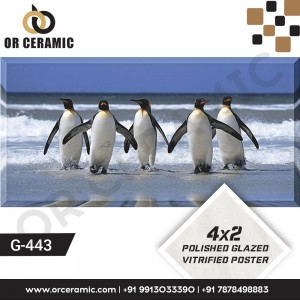 G-443 Penguin   Wall Poster Picture Tiles