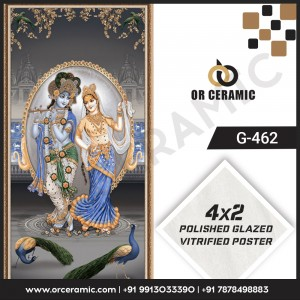 G-462 Lord Krishna | Wall Poster Picture Tiles