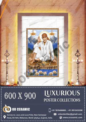 9033 Glossy Poster Wall Tiles | OR Ceramic