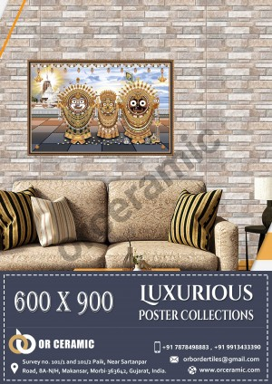 9056 Glossy Poster Wall Tiles | OR Ceramic