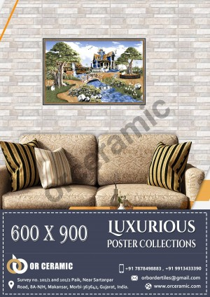 9132 Glossy Poster Wall Tiles | OR Ceramic