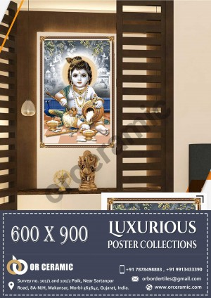 9019 Glossy Poster Wall Tiles | OR Ceramic