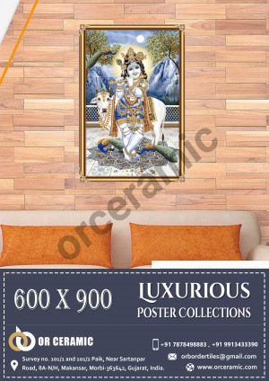 9020 Glossy Poster Wall Tiles | OR Ceramic