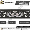 1516 Digital Border Tiles | OR Ceramic Morbi
