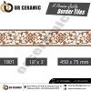 1801 Digital Border Tiles   OR Ceramic Morbi