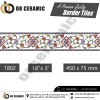 1802 Digital Border Tiles | OR Ceramic Morbi