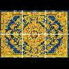 608 Rangoli Tiles orceramic morbi