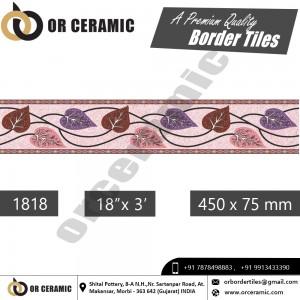 1818 Digital Border Tiles   OR Ceramic Morbi