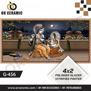 G-456 Lord Krishna | Wall Poster Picture Tiles