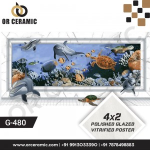 G-480 Sea Mammals | Wall Poster Picture Tiles