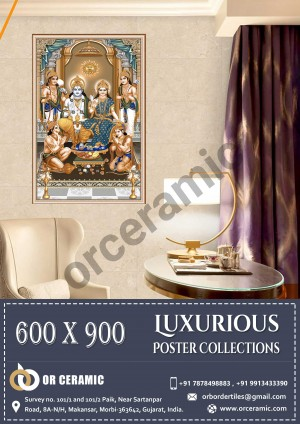 9031 Glossy Poster Wall Tiles | OR Ceramic