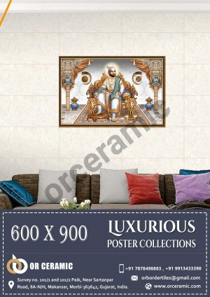 9041 Glossy Poster Wall Tiles | OR Ceramic