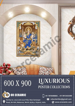 9042 Glossy Poster Wall Tiles | OR Ceramic