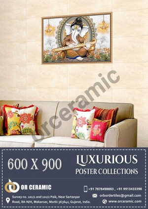 9006 Glossy Poster Wall Tiles | OR Ceramic