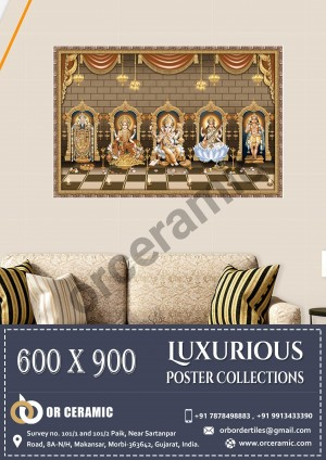 9011 Glossy Poster Wall Tiles | OR Ceramic