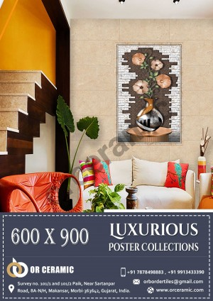 9089 Glossy Poster Wall Tiles | OR Ceramic
