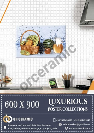 9109 Glossy Poster Wall Tiles | OR Ceramic