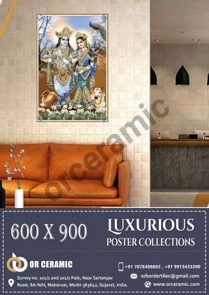 9012 Glossy Poster Wall Tiles | OR Ceramic