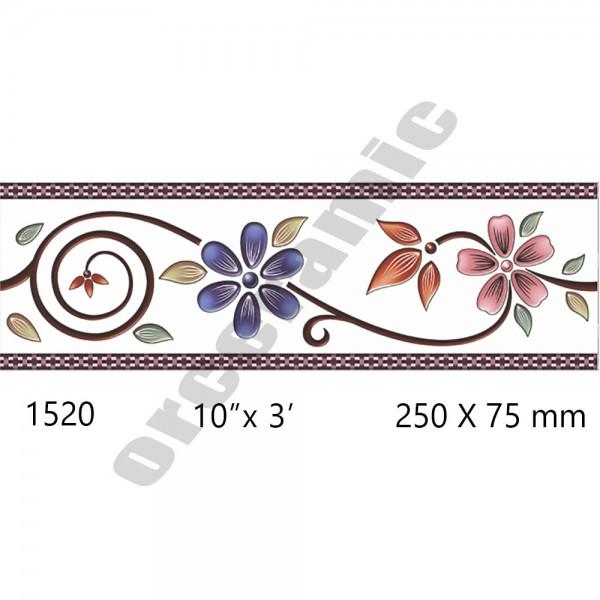 1520 Digital Border Tiles | OR Ceramic Morbi