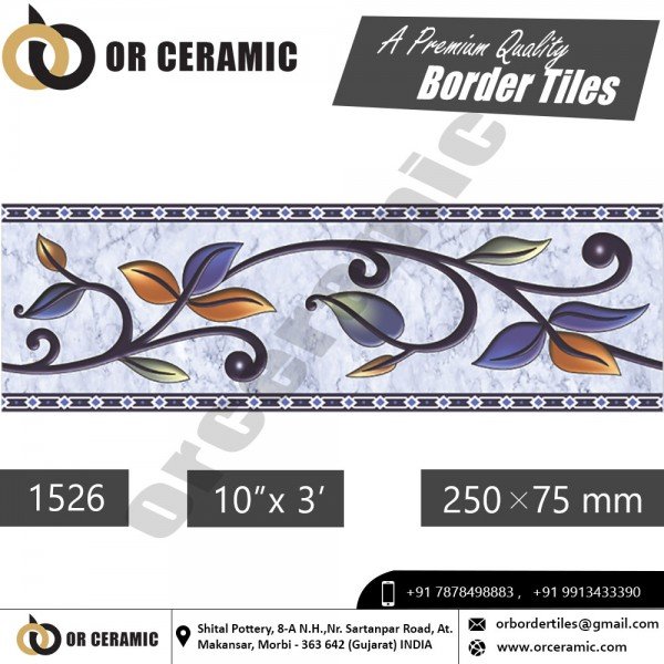 1526 Digital Border Tiles