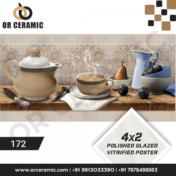 172 Kitchen Wall Poster Tiles | OR Ceramic