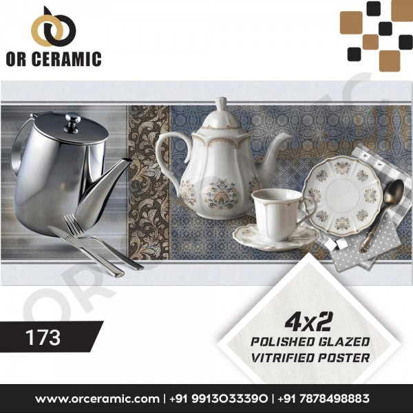 173 Kitchen Wall Poster Tiles | OR Ceramic