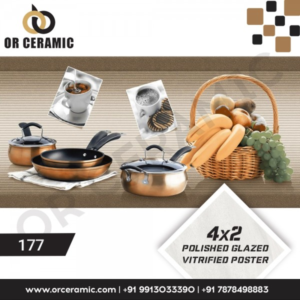177 Kitchen Wall Poster Tiles | OR Ceramic