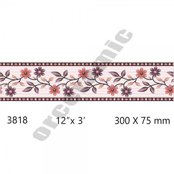 3818 Digital Border Tiles | OR Ceramic Morbi