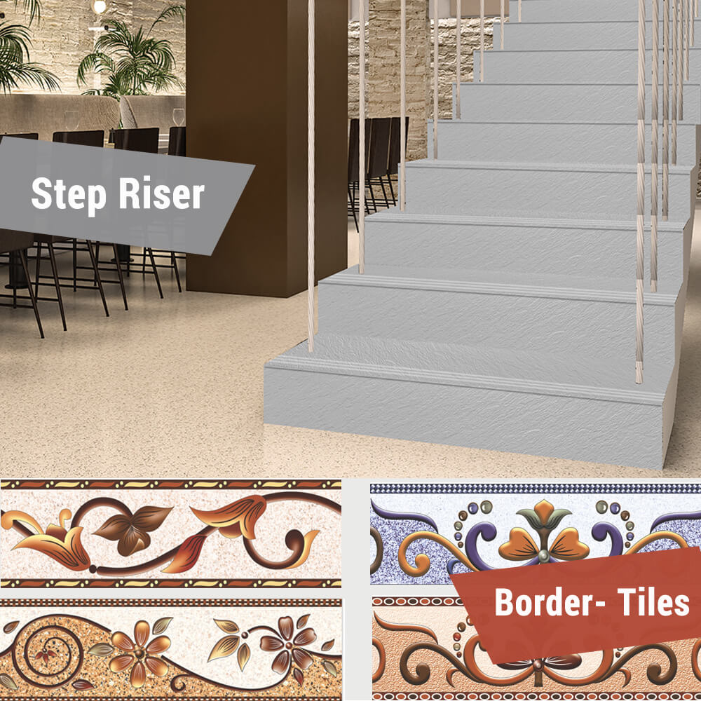 Border Tiles - Step Riser Catalogue